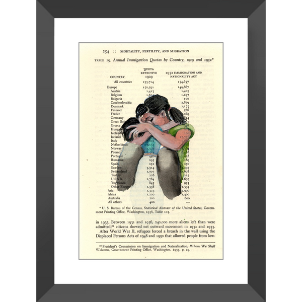 Families Not Unified - Framed Prints