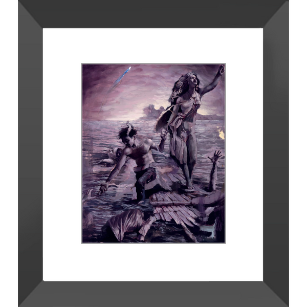 Stand Up - Framed Prints