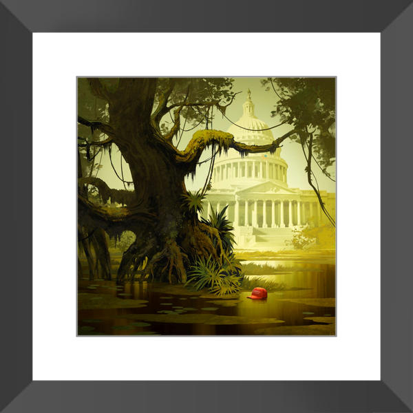 The Swamp - Framed Prints