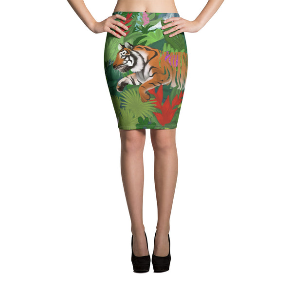 Tiger - Pencil Skirt