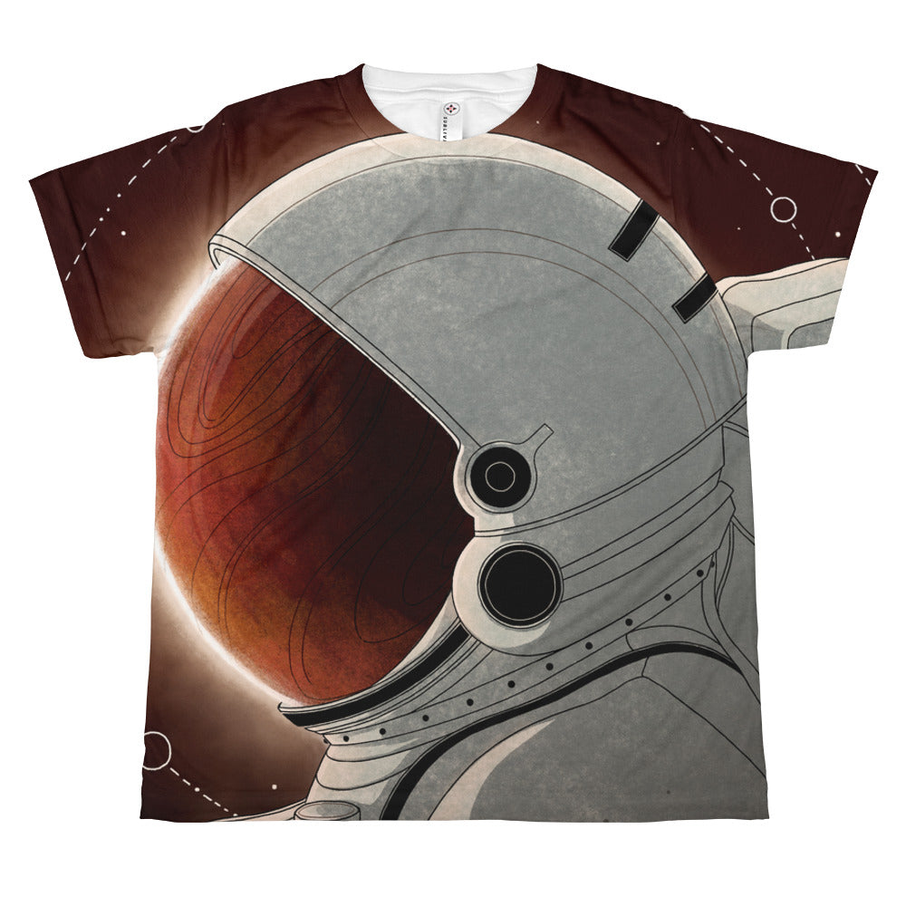 Red Skies - All-over youth sublimation T-shirt