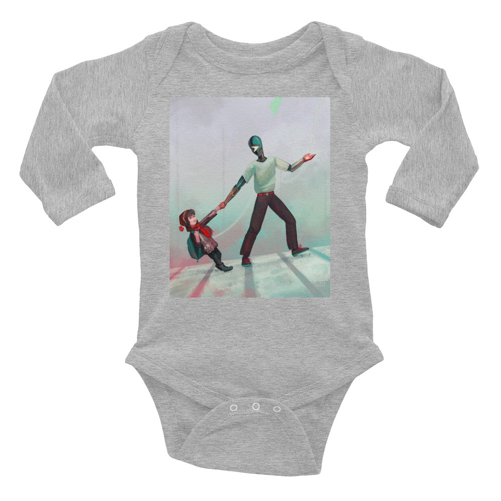 Let Me Guide You- Infant Long Sleeve Bodysuit