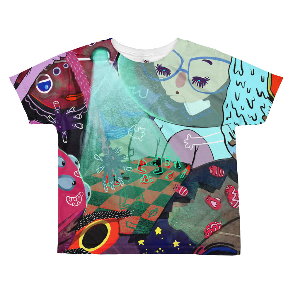 And Nothing Changed - All-over kids sublimation T-shirt