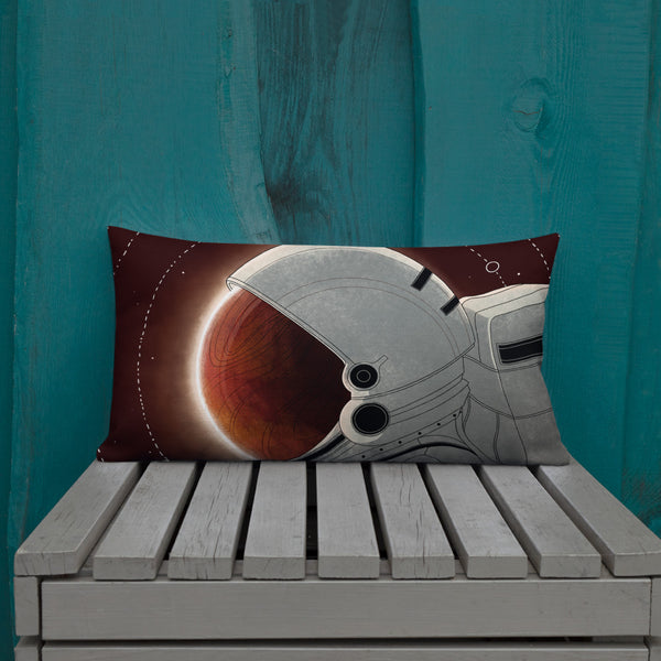 Red Skies Premium Pillow