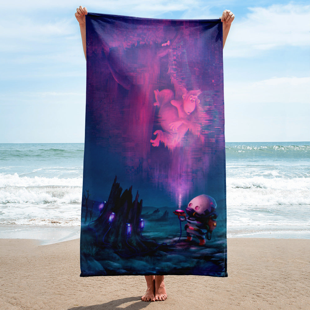 Toxic Wasteland Towel