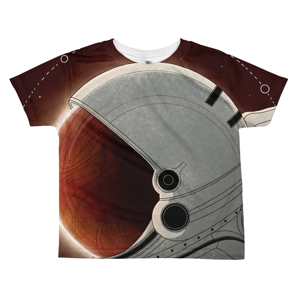 Red Skies All-over kids sublimation T-shirt