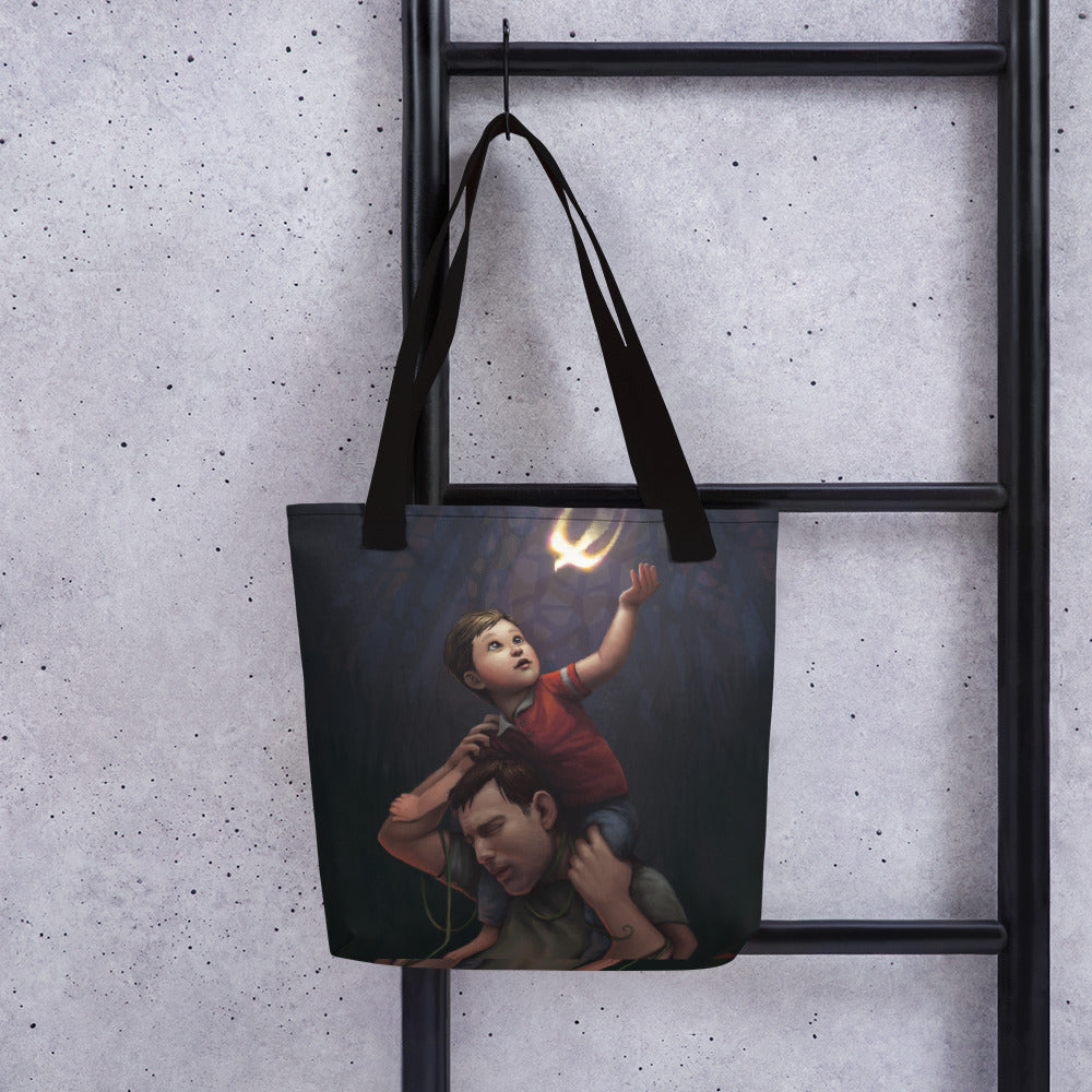 Sins of the Father- Tote Bags