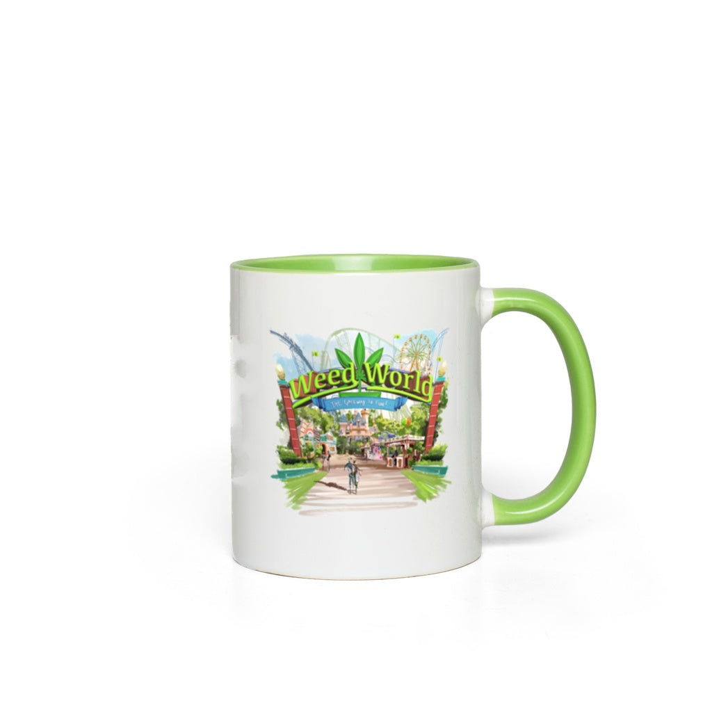 Weed World - Accent Mugs