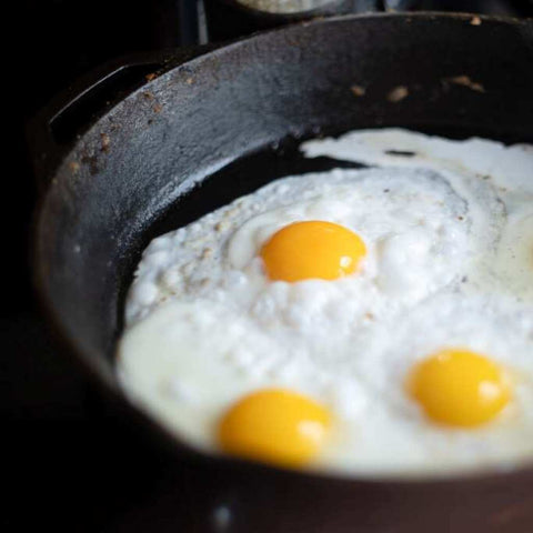 Eggs in a Cast Iron Skillet – Are You Nuts?!?