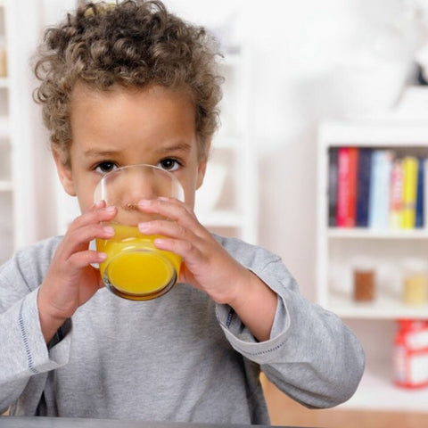Children and Juice Are Not a Good Mix