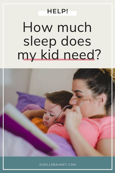 How much sleep does my kid need?