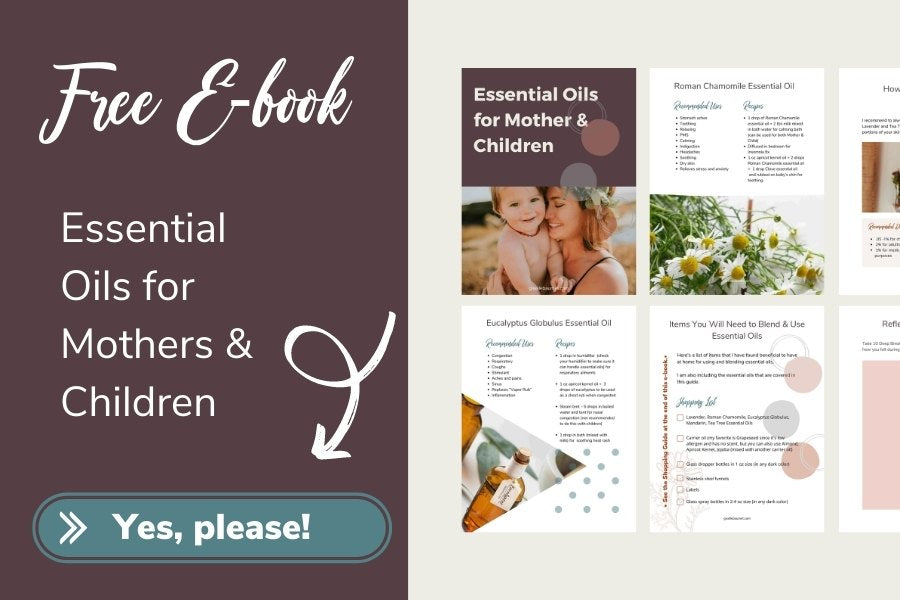 Free Essential Oils for Mothers Ebook