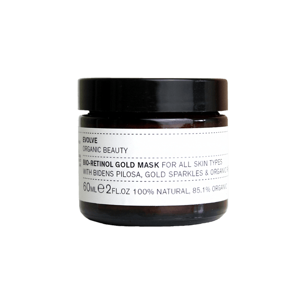 evolve gold mask natural and organic makeup brand