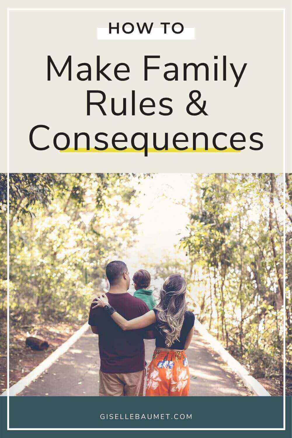Family Rules and Consequences