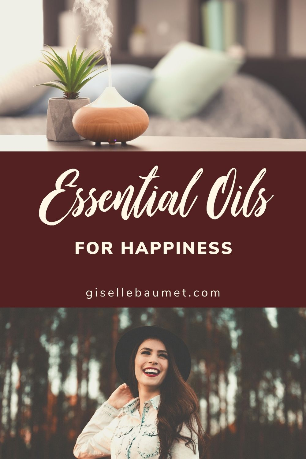 Essential oils for happiness