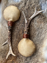 Load image into Gallery viewer, Deerskin Shamanic Rattles - Pair