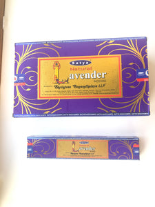 Satya Natural Lavender Incense