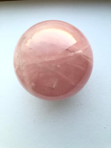 Rose Quartz Sphere 1