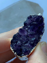 Load image into Gallery viewer, Amethyst Freeform Pendant