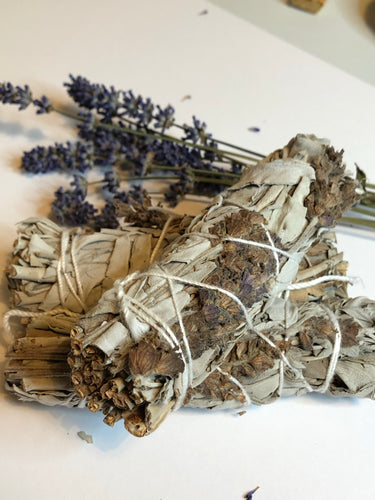 Sage and Lavender Smudge Stick