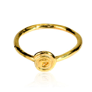 Golden Spiral Ring Mini