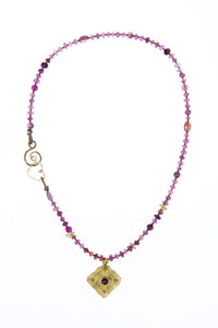 Tourmaline Seed Necklace