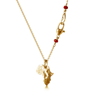 Daraja Necklace in 24k Gold Vermeil