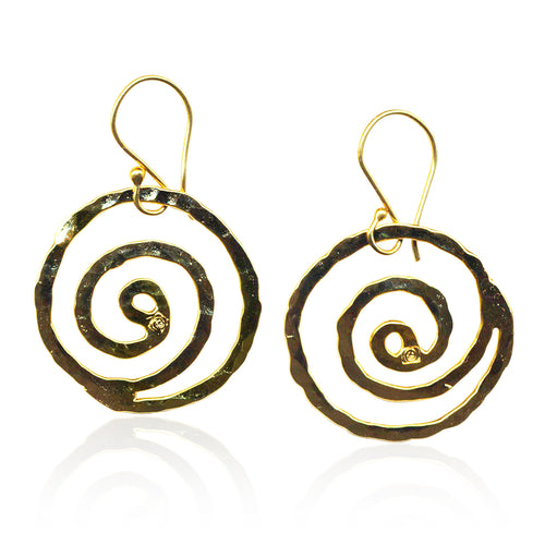 Spiral of Life Earrings