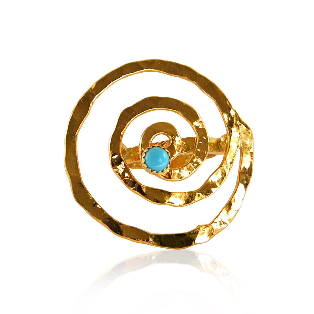Life Spiral Cocktail Ring