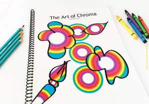"""The Art of Chroma"" Coloring Book"