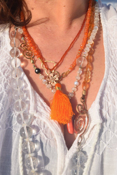 Carnelian Solstice Necklace