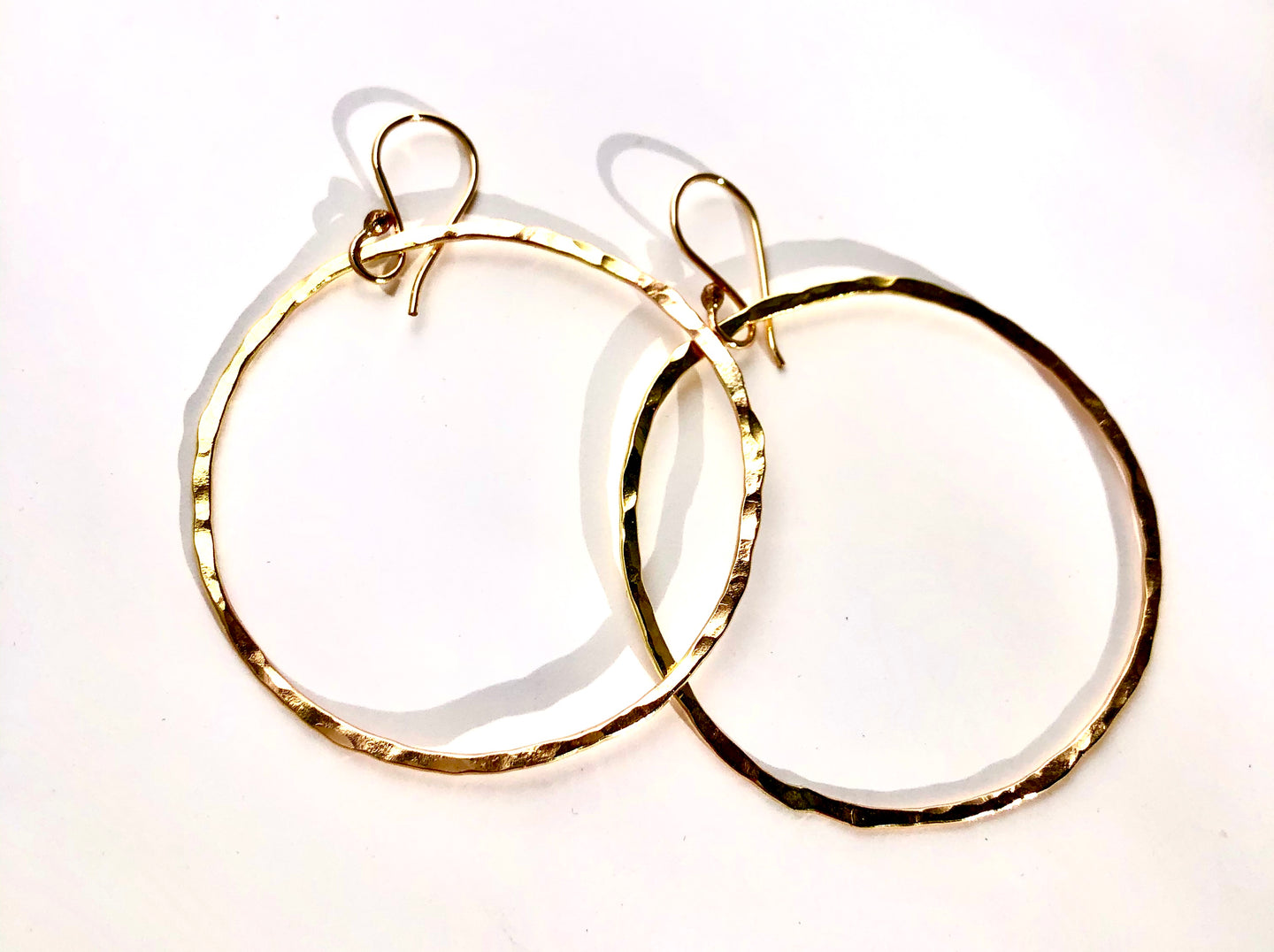 Halo Hoops - gold filled
