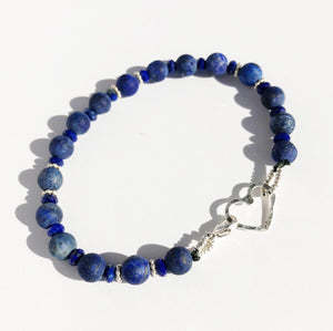 Lapis Lazuli Prayer Bracelet • Icons of Happiness