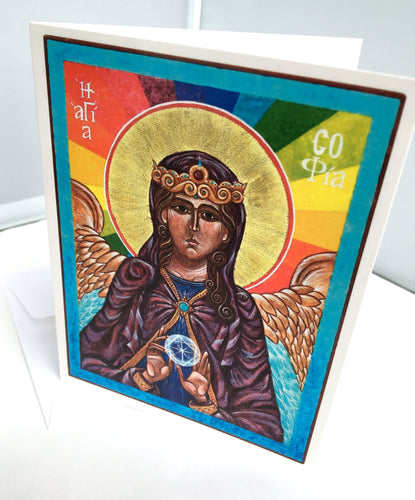 St. Sophia Holy Wisdom Note Card