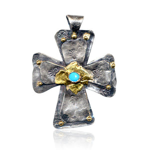 Sophia Sterling Silver Cross
