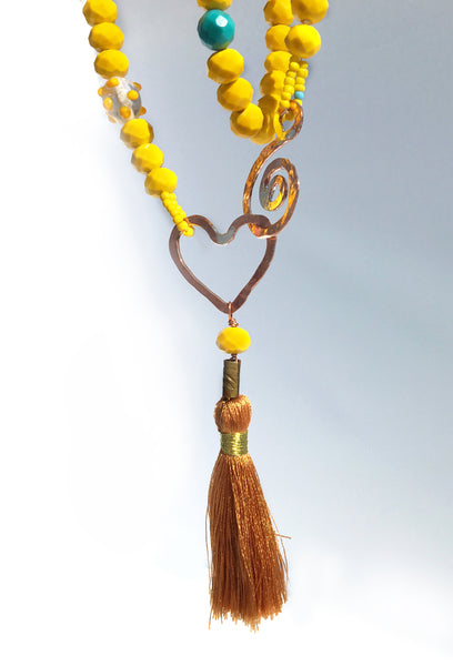 Summer of Love Sunshine Necklace