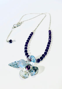 Violet Necklace for Spring!