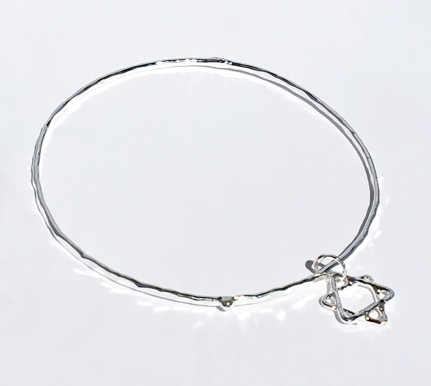 Star of David Bangle Bracelet