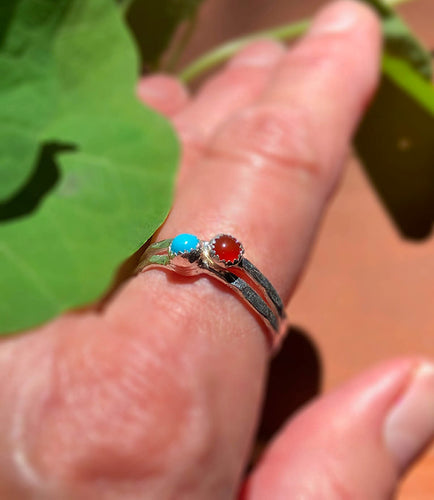Dreaming of the Greek Islands Carnelian Ring