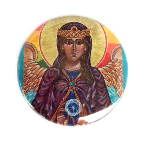 St. Sophia Holy Wisdom Button