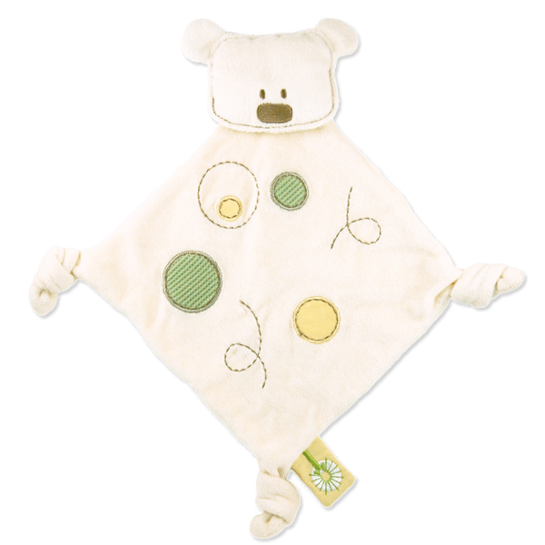 Organic Bear Teething Blanket