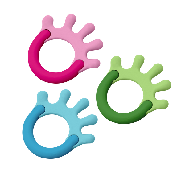 Cornstarch Hand Teether Assorted - 3mo+