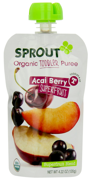 Toddler Acai Berry Superfruit - 4.22 oz