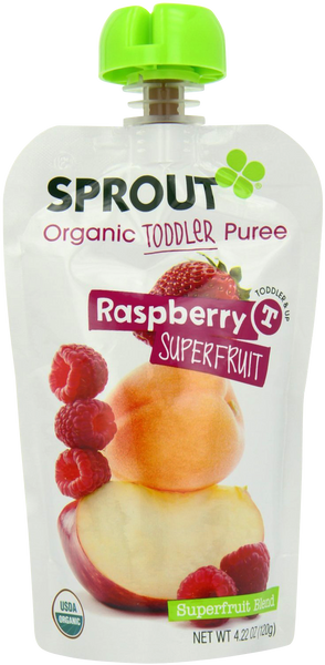 Toddler Rasberry Superfruit - 4.22 oz