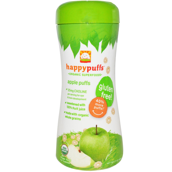 Happy Puffs Apple Puff - 2.10 oz