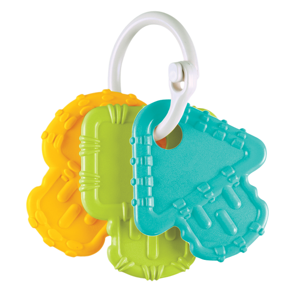 Teething Keys - Aqua