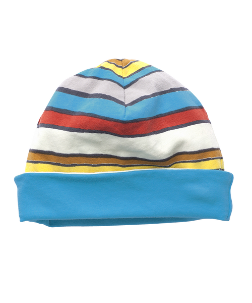 Sale - Boys' Trail Stripe Reversible Beanie