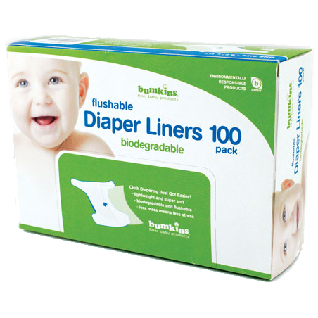 Flushable Diaper Liner - 100 pack