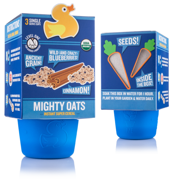 Mighty Oats - Blueberry Cinnamon