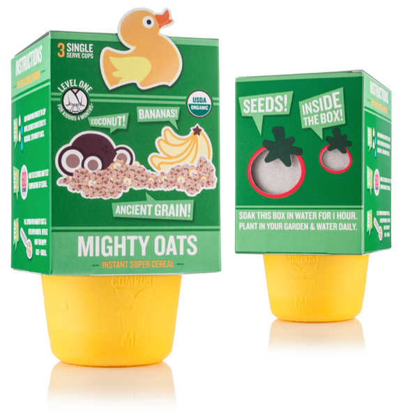 Mighty Oats - Coconut Banana